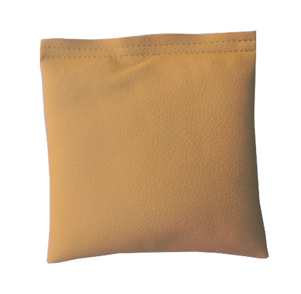 Square Rice Bag in Khaki Vinyl