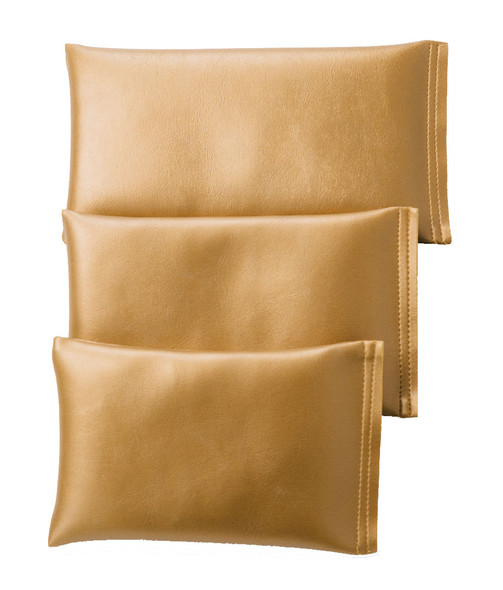 Rectangular Rice Bag with Metallic Gold Vinyl