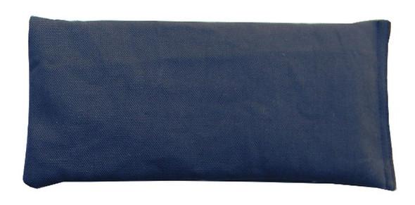 Rectangular Rice Bag with Navy Blue Fabric