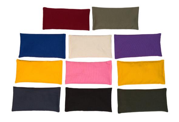 Rectangular Rice Bag with Maroon Cotton Fabric
