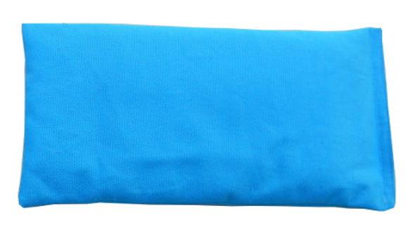 Rectangular Rice Bag with Turquoise Fabric