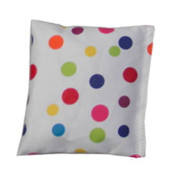 Square Rice Bag in Polka Dots Print