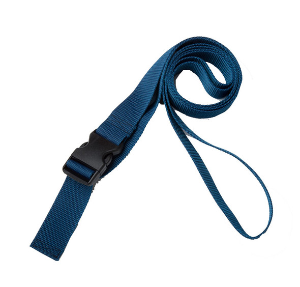 1.5 Inches Wide Navy Blue Traction Belt with Fast Release Buckle (8 Ft - 12 Ft Long)