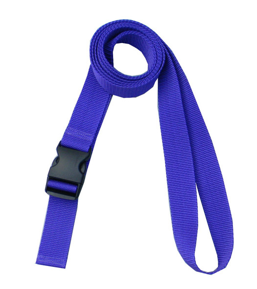 1.5 Inches Wide Purple Traction Belt with Fast Release Buckle (8 Ft - 12 Ft Long)