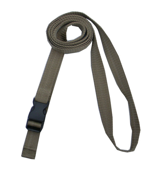 1 Inches Wide Khaki Traction Belt with Fast Release Buckle ( 8 Ft - 12 Ft Long)