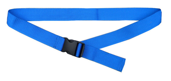 Blue Belt with 1.5 Inches Wide Webbing (from 34 Inches to 60 Inches)