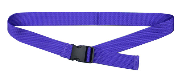 Purple Belt with 1.5 Inches Wide Webbing (from 34 Inches to 60 Inches)