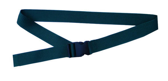 Green Belt with 1.5 Inches Wide Webbing (from 34 Inches to 60 Inches)
