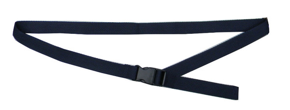 Navy Blue Waist Belt with 1 Inches Wide Webbing