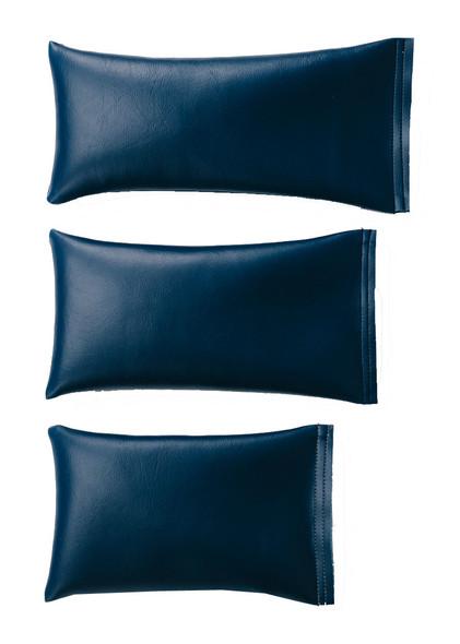 Rectangular Rice Bag with Midnight Blue Vinyl