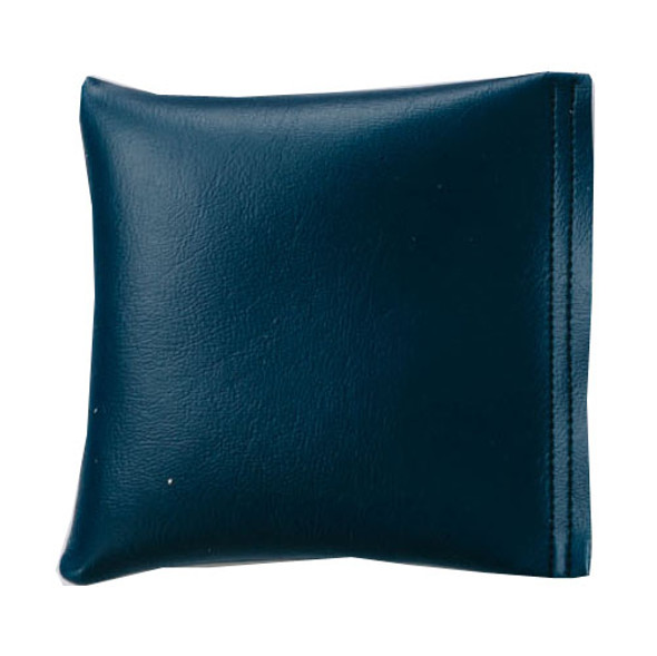 Square Rice Bag in Midnight Blue Vinyl
