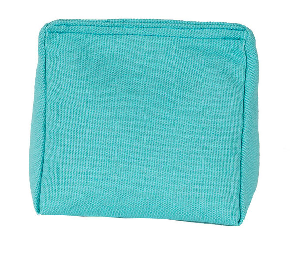 Rice Bag with Aqua Blue Cotton Fabric and Rice