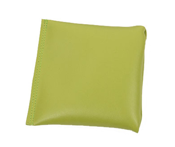 Square Rice Bag in Apple Green Vinyl