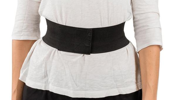 Black Elastic Strap