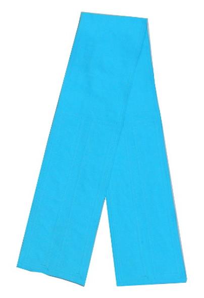 Sky Blue Velcro Fabric Belt
