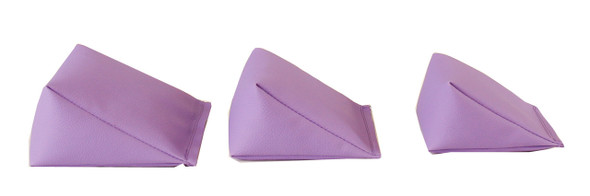Wedge Bag with Lilac Vinyl (soft)