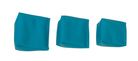Wedge Bag with Teal Vinyl (soft)