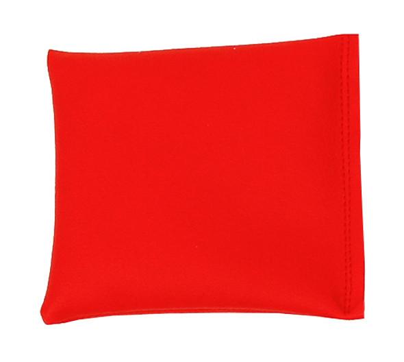 Square Rice Bag in Red Vinyl (Soft)