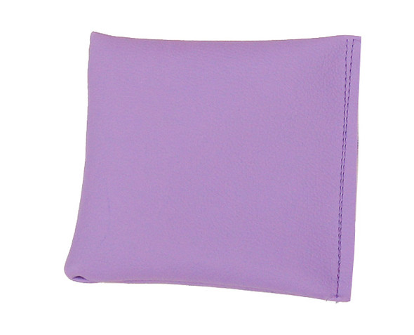 Square Rice Bag in Lilac Vinyl (Soft)