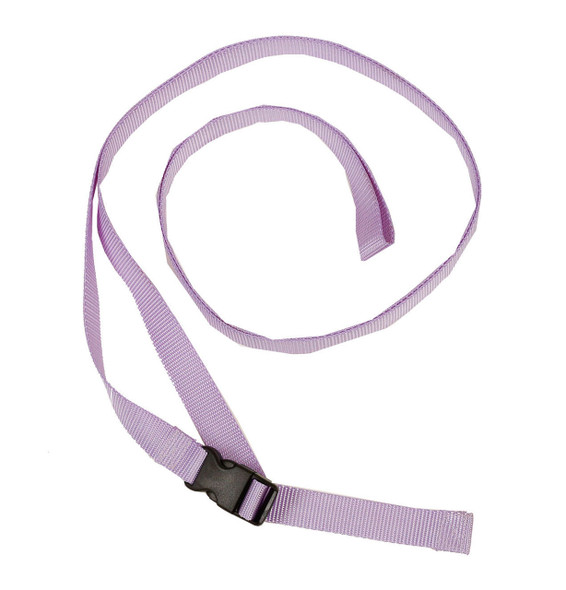 1 Inch Wide Lavender Traction Belt with Fast Release Buckle (8 Ft - 12 Ft Long)