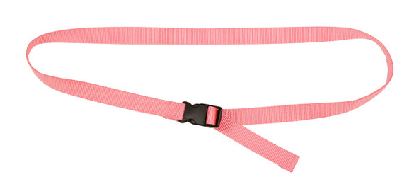Pink Belt with 1 Inches Wide Webbing