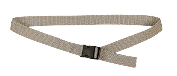 Silver Gray with 1 Inches Wide Webbing