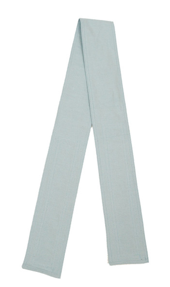 Light Blue Organic Cotton Belt with Hook and Loop Closure