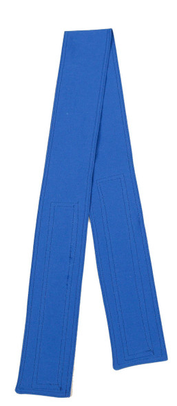 Royal Blue Organic Cotton Belt with Hook and Loop Closure (3 inches wide)