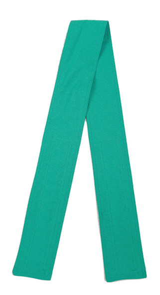 Teal Cotton Belt with Hook and Loop Closure (3 inches wide)