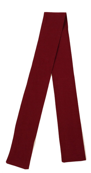 Wine Organic Cotton Belt with Hook and Loop Closure