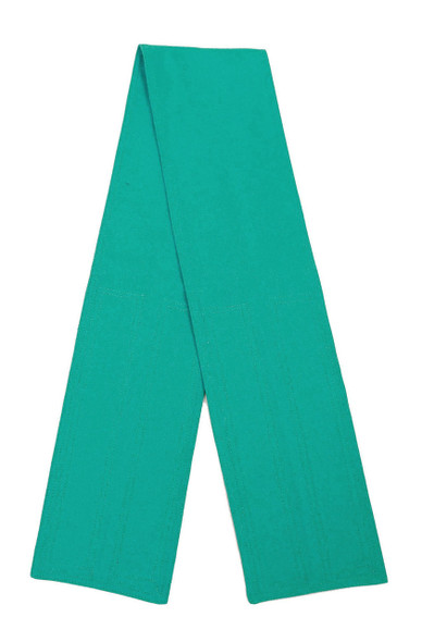 Teal Fabric Belt with Hook and Loop Closure (5 inches wide)