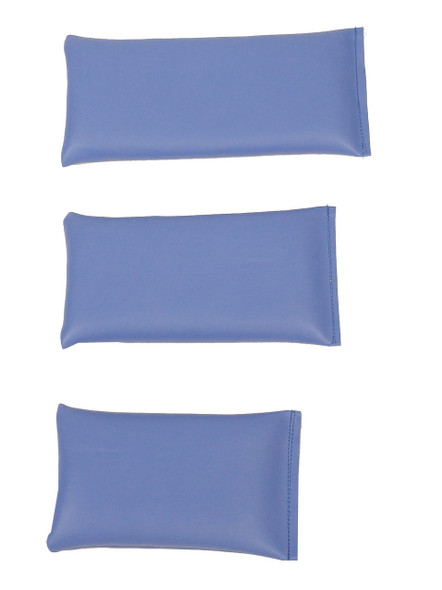 Rectangular Rice Bag with Baltic Blue Vinyl