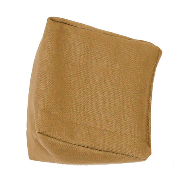 Wedge Rice Bag with Khaki Organic Cotton Fabric