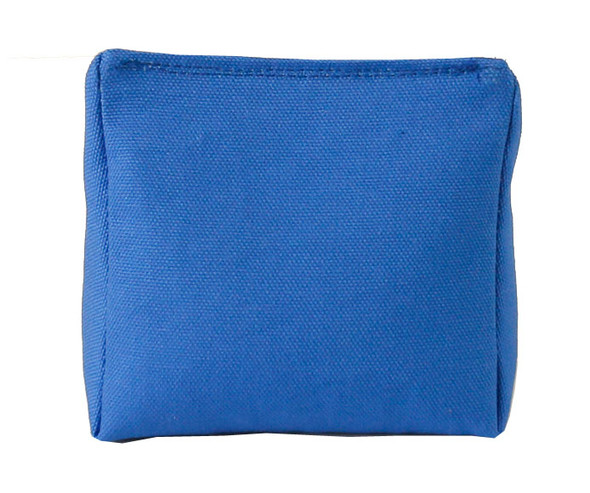 Wedge Rice Bag with Royal Blue Organic Cotton Fabric