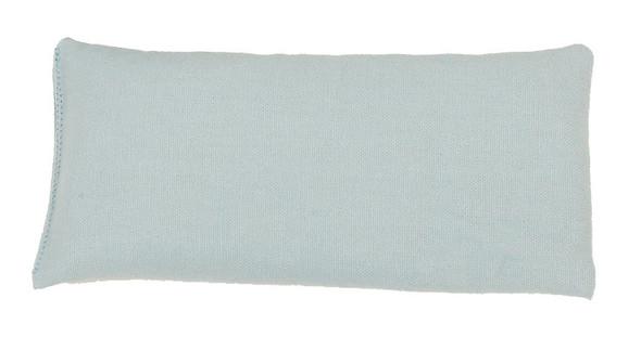 Rectangular Rice Bag with Light Blue Cotton Fabric