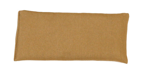 Rectangular Rice Bag with Khaki Organic Cotton Fabric