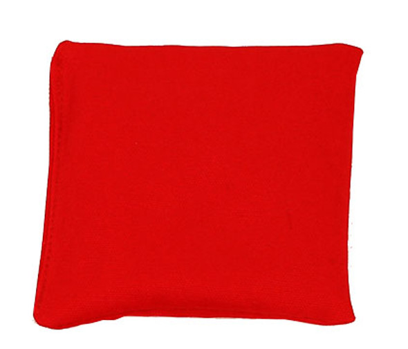 Red Square Rice Bag in Organic Cotton Fabric