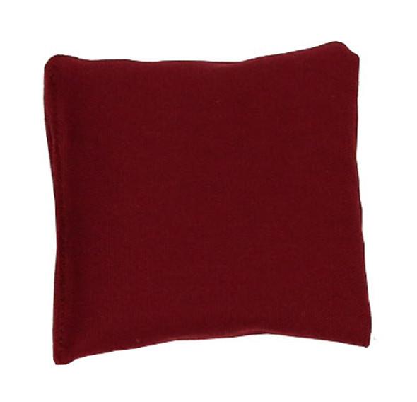 Wine Square Rice Bag in Organic Cotton Fabric