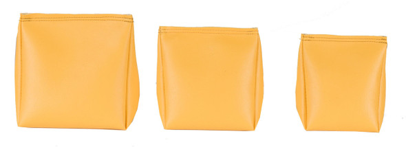 Wedge Rice Bag with Mustard Vinyl