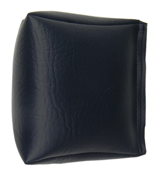 Wedge Rice Bag with Navy Blue Vinyl and Rice (Original)