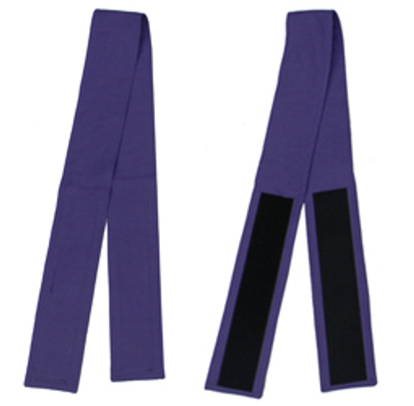 "3"" Velcro Belt in Purple (Back View)"