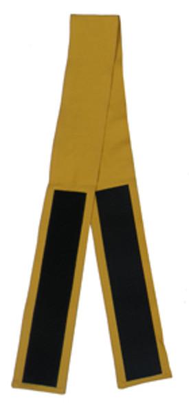 """3"""" Velcro Belt in Mustard (Back View)"""