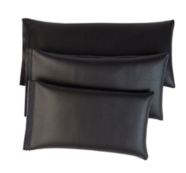 Rectangular Rice Bag with Black Vinyl