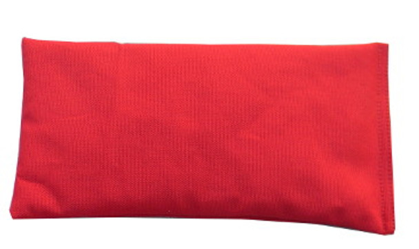 Rectangular Rice Bag with Red Cotton Fabric