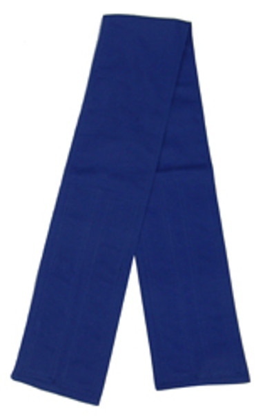 Blue Velcro Fabric Belts - 5 Inches
