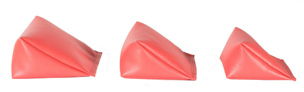 Wedge Rice Bag with Coral Vinyl