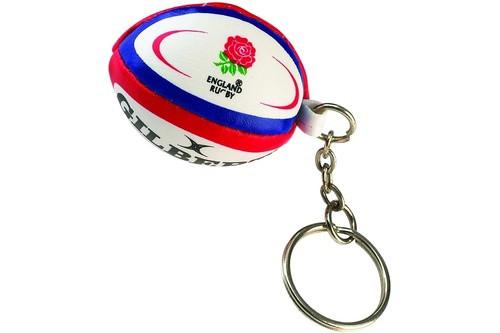 Gilbert England Rugby Keyring