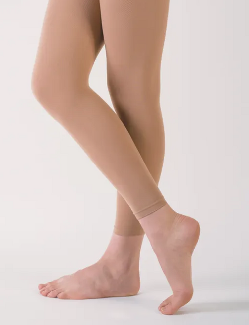 Capezio Womens Footless Tights V1885W