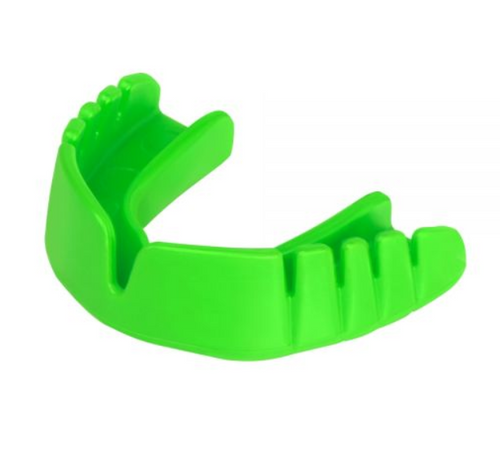 Opro Junior Snap-Fit Mouthguard Green