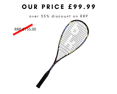Black Knight Hex Blaze Squash Racket